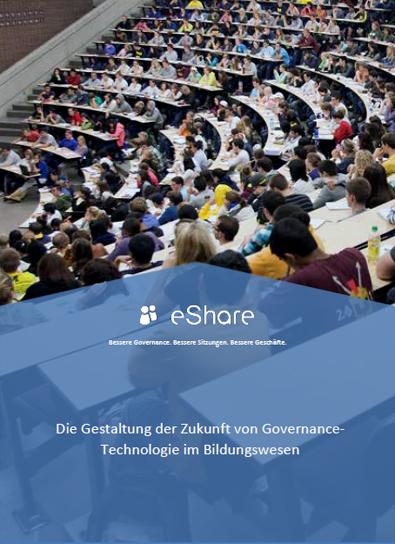 Die Gestaltung der Zukunft von Governance-Technologie im Bildungswesen