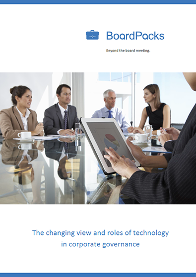 The changing view and roles of technology in corporate governance