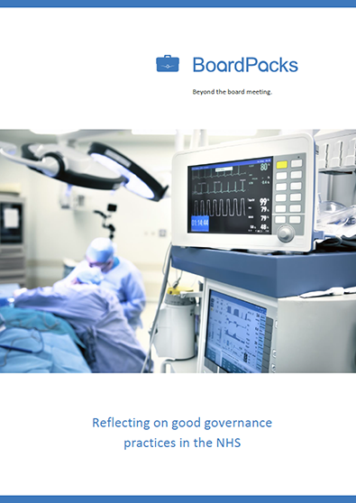 Reflecting on good governance practices in the NHS