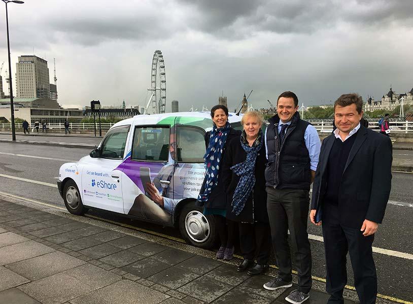 eShare taxi campaign