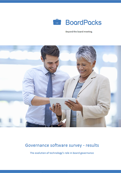 The results of the governance software survey 2013/2014