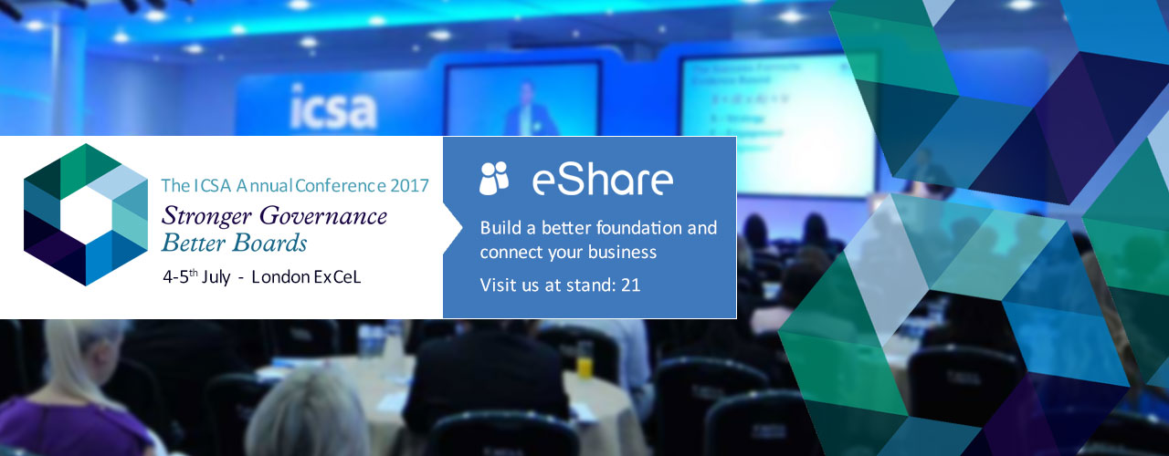 ICSA Annual Conference rounds off eShare's summer events programme