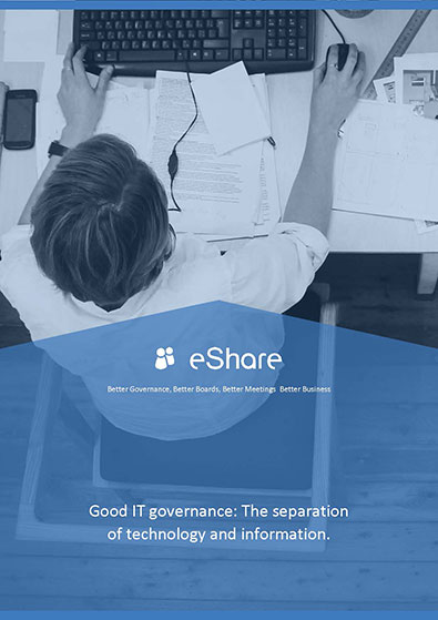 Good IT governance: The separation of technology and information