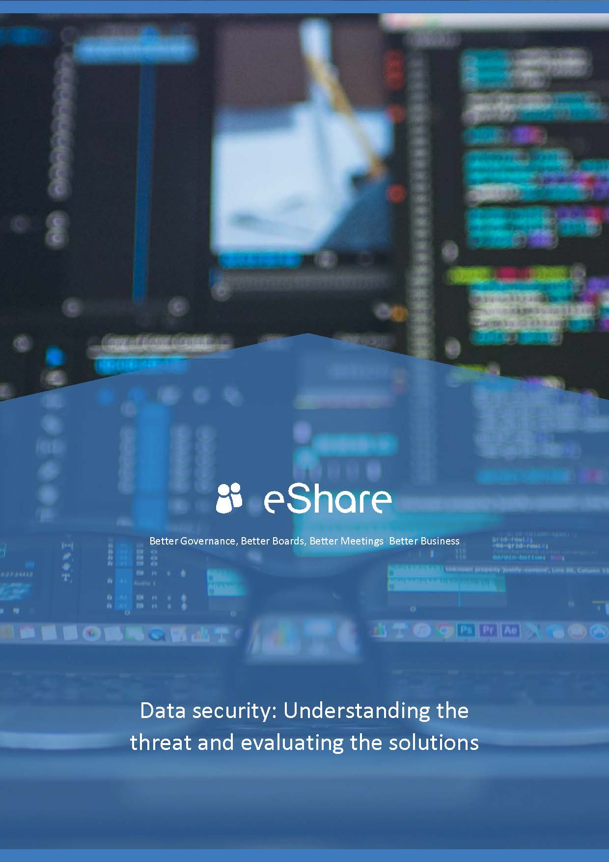 Data security: Understanding the threat and evaluating the solutions whitepaper